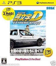 Used PS3 Initial D Extreme Stage Best SONY PLAYSTATION 3 JAPAN JAPANESE IMPORT