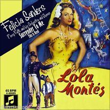 "7"" FELICIA SANDERS & PERCY FAITH Lola Montez Montes OST MARTINE CAROL COLUMBIA"
