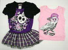 Justice RMLA Girls Short Sleeve Dress Graphic T-Shirt Set Size 6