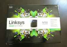 Cisco Linksys N750 Wi-Fi Dual-Band Router Windows and Mac EA3500-np