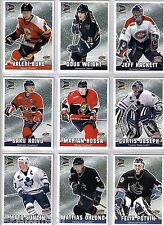 2000/01 McDONALDS PACIFIC PRISM 9 CARD CHECKLIST SET