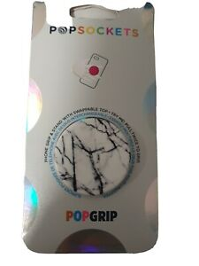 PopSockets 2 Gen. Austauschbar PopSocket - Dove White Marble