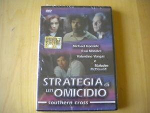 Strategia di un omicidio Southern crossIronside Vargas DVD italiano inglese