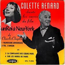 """Colette Renard chante """"Un roi à New-York"""" de Charlie Chaplin - B.E."""