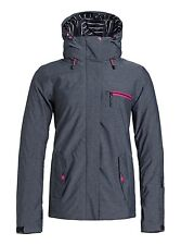 Roxy Jetty womens Snowboard Jacket ERJTJ03018 new with tags XS ANTHRACITE (kvjo)