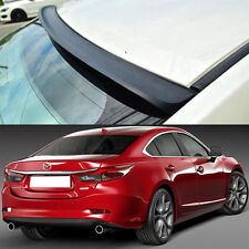 PAINTED FOR Mazda 6 Atenza 3rd Sedan K Style Rear Roof Spoiler Wing 2014-2016 ◣