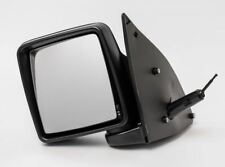 VAUXHALL COMBO MK2 2001 - 2012 DOOR WING MIRROR MANUAL BLACK LEFT PASSENGER N/S