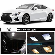 White LED Lights Interior Package for 2015-2016 LEXUS RC-F RC-350 F