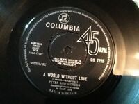 PETER AND GORDON . A WORLD WITHOUT LOVE . ( LENNON & McCARTNEY  BEATLES )