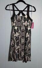NWT Soybu Athletic Sport Yoga Dress Size M Medium Gray & Black