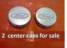 """1995-2002 Ford Escort Probe Center Cap Caps Hub hubcap 14 15 16 rim set 2 E6 2"""""""