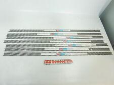 bk467-3#6x PECO H0 / DC sl. 100x FLESSIBILE BINARIO/BINARIO (91,5 cm), NUOVO