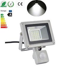 1X 20W 220V Cool White PIR Motion Sensor LED Flood Light Outdoor Security Lamp