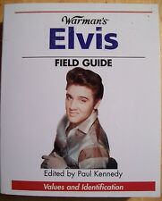 ELVIS PRESLEY PRICE GUIDE COLLECTOR'S BOOK THE KING of ROCK
