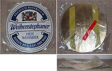 Spina targhetta di metallo Weihenstephan lievito Weissbier PIEGATO NUOVO & OVP