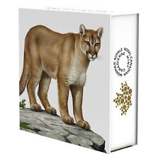 2016 Canada $100 for $100 Canadian Cougar Wild Life in Motion 1oz Silver coin