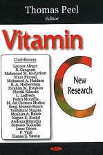 Vitamin C: New Research - New Book Peel, Thomas