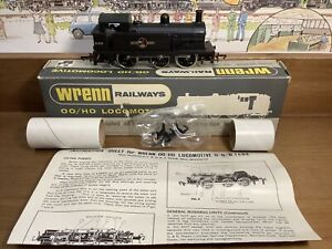 Boxed Wrenn Railways BR R1 0-6-0T 31337 in BR Unlined Black with Late Crest VGC