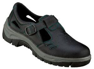 Sicherheitsschuhe Arbeitsschuhe Sandale GÜSTROW S1 Feldtmann Größen 36-48