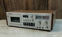 Vintage Technics RS-671a Stereo Cassette *PARTS* NO CORD*