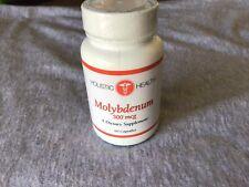Holistic Health Molybdenum 500mcg 60 Capsules