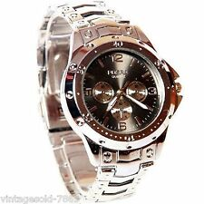 New Stylish Sober Wrist Watch for Men Black Dial-ROSBD-1 In BOX PACKING