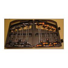 16 Innensechskant Torx Doppel T-Griff lang Schlüssel M 2 bis 10 und T 10 bis 50