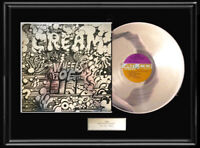 CREAM  WHEELS OF FIRE RARE WHITE GOLD SILVER PLATINUM TONED RECORD ERIC CLAPTON