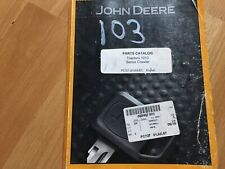 John Deere 1000 Series 1010 Crawler Tractor Factory Parts Catalog Pc727