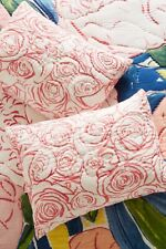 Anthropologie x Bridgette Thornton - Paint + Petals - Set of 2 Standard Shams