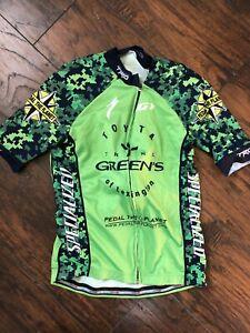 Louis Garneau Short Sleeve Cycling Jersey Size Small