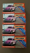 4x New Matchbox Power Grabs 1962 Volkswagen Beetle 86/100 MBX Coastal (2020)