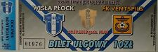 TICKET UEFA Cup 2003/04 Wisla Plock - FK Ventspils