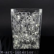 vintage 60er WMF Bubble Design Blockvase Glas Vase German Art Glass 1960er