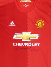 Manchester United Wayne Rooney Autographed Signed Adidas Jersey Beckett E17420
