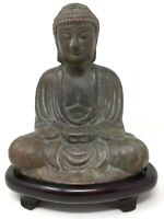 Bouddha Bronze Chinese Asian Statue Figurine