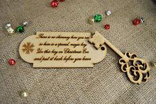 Christmas Magic Door Key & Message To Santa – MDF