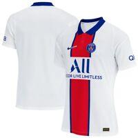 Nike PSG Paris Saint-Germain Vaporknit Match Away 2020-21 Jersey CD4188-101 Sz L