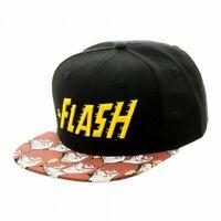 Flash DC Comics Logo Halftone Sublimated Snapback Hat