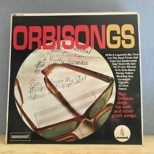 ROY ORBISON Orbisongs - 1967 UK vinyl LP EXCELLENT CONDITION stereo