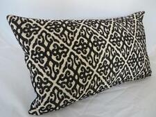 30x50CM Rectangle Oblong Black Classic Scrolls Cushion Cover Home Decor