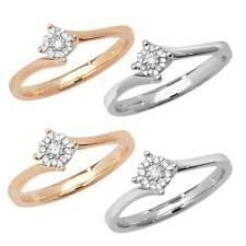 Anillos de joyería con diamantes I1
