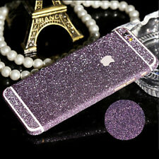 360 Degree Full Body Decal Bling Glitter Protective Sticker Wrap Case For iPhone