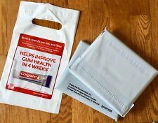 70+ Pack Dental Supply Grab Goodie Bags Dentist 7 x 10 Colgate Advertisement