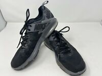 Men's Nike Zoom Training Mens Shoes Size 9.5 Black and Gray Pre Owned