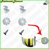 Paire Goupilles Pinlock Pins Visière Casque LS2 Tous les Modèles Lis Description