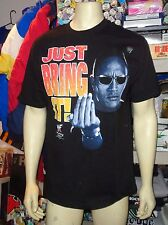 "The Rock ""Just Bring It"" T-Shirt"" Wrestling (Large) New"