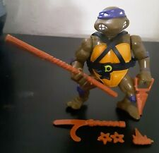 TMNT Donatello 1988 with accessories NEAR complete Teenage Mutant Ninja Turtles