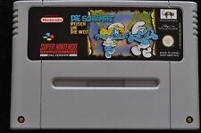Die Schlümpfe Reisen Um Die Welt Nintendo SNES