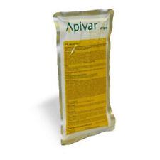 Apivar 10 bandelettes amitraz pour contrôler le varroa